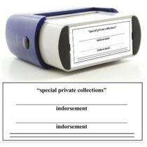 Rubber Stamp Private Collections Image
