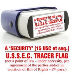 Rubber Stamp USSEC Tracer Image